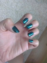 Quickie Review: Illamasqua Nail Varnish in Viridian