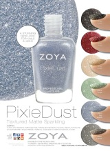 Coveting: Zoya Pixie Dust Special Texture Collection Nail Polishes