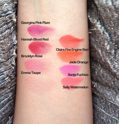 shanghai suzy swatches