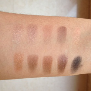 swatches in the light