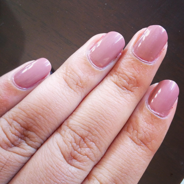 how to make clumpy nail polish smooth