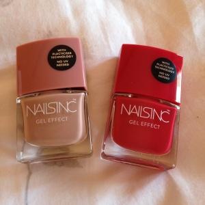 NailsInc Gel Effect Polishes